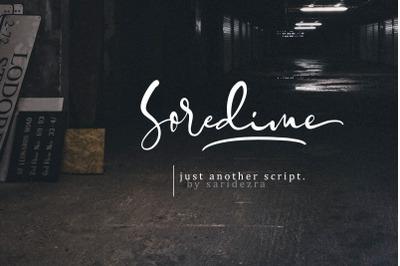 Soredime - Signature Script