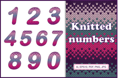 Knitted numbers