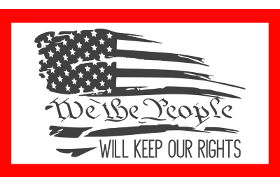 We The People SVG PNG DXF EPS Cut Files