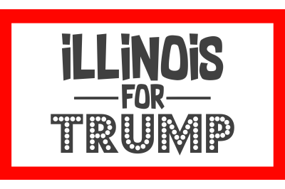 Illinois For Trump SVG PNG DXF EPS Cut Files