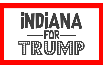 Indiana For Trump SVG PNG DXF EPS Design Files