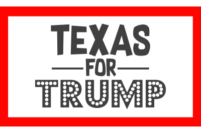 Texas For Trump SVG PNG DXF EPS Cut File
