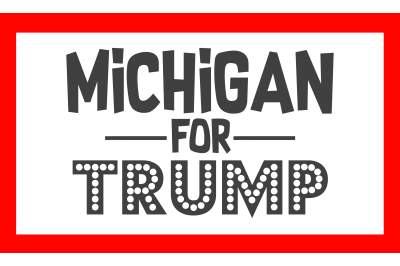 Michigan For Trump SVG PNG DXF EPS Design Files