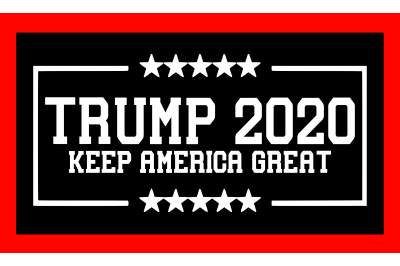 Trump 2020 Keep America Great SVG PNG DXF EPS