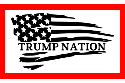 Trump Nation SVG PNG DXF EPS Cut Files