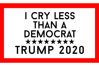 I Cry Less Than A Democrat Baby Onesie SVG PNG DXF EPS