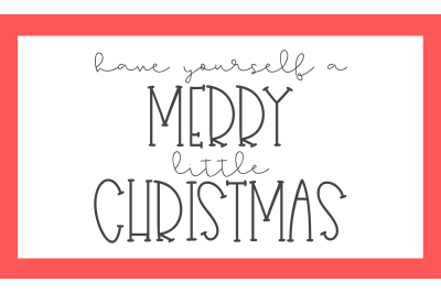 Have Yourself A Merry Christmas SVG PNG DXF EPS