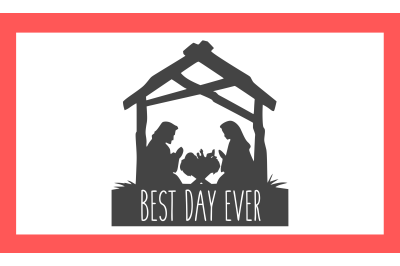 Christmas Best Day Ever SVG PNG DXF EPS