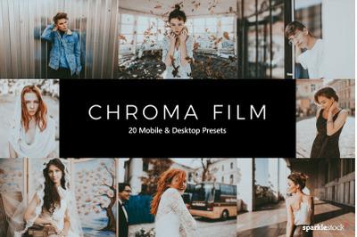 20  Chroma Film LR Presets