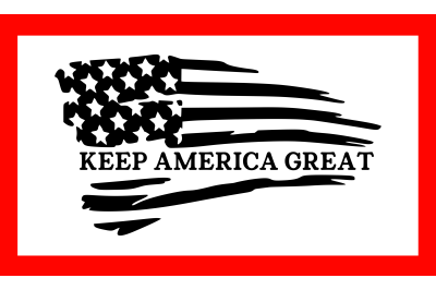 Keep America Great Trump SVG 2020 President PNG DXF EPS