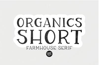 ORGANICS (Short) Farmhouse Serif Font