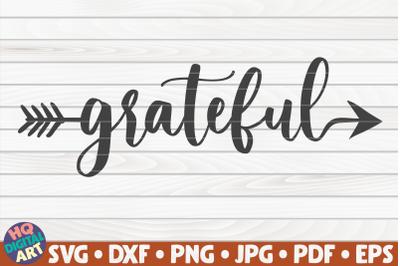 Grateful SVG | Thanksgiving Quote
