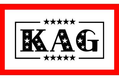 KAG Trump 2020 SVG PNG DXF EPS