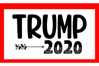 Trump 2020 SVG PNG DXF EPS Cut Files