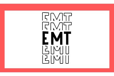 EMT Paramedic SVG PNG DXF EPS Design Files