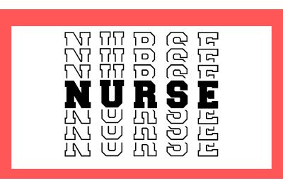Nurse SVG PNG DXF & EPS Design Files
