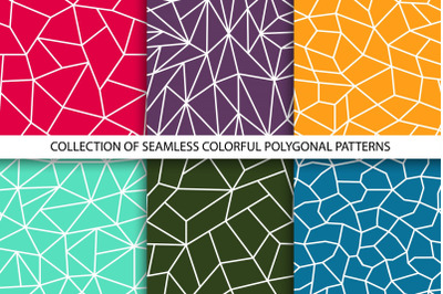 Collection of color grid patterns