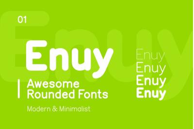 Enuy Font Sans Serif