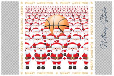 Merry Christmas. Basketball.