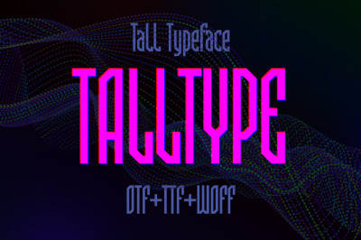 Talltype font
