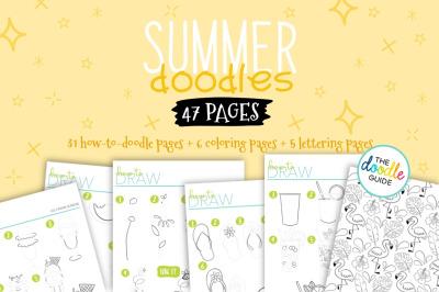 Summer  Doodles Booklet