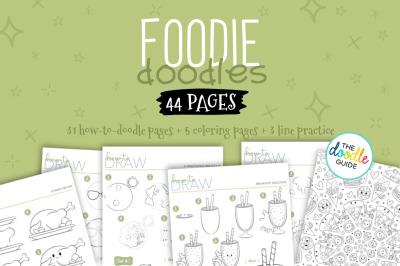Foodie Doodle Booklet