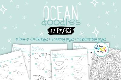 Ocean Doodle Booklet