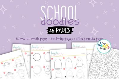 School Doodle Booklet