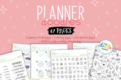 Planner Doodle Booklet