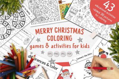 Merry Christmas Coloring Games
