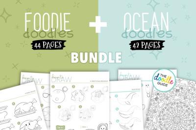 Foodie + Ocean Doodles Bundle