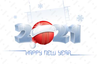 2021. Happy New Year! Cricket.
