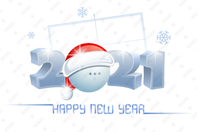 2021. Happy New Year! Ping Pong.