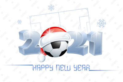 2021. Happy New Year! Soccer