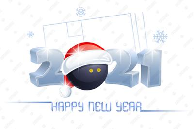 2021. Happy New Year! Squash.