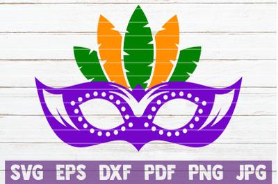 Mardi Gras Mask SVG Cut File