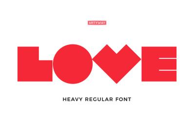 Robot Love Font