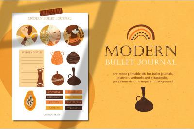 Modern bullet journal