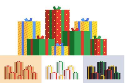Big pile of presents