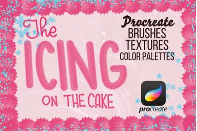 Icing On The Cake Procreate Brush Set