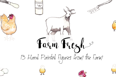 Hand Painted Farm Fresh Images