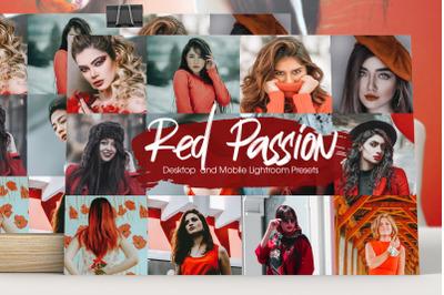 Red Passion Lightroom Presets