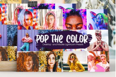 Pop Up The Color Lightroom Presets