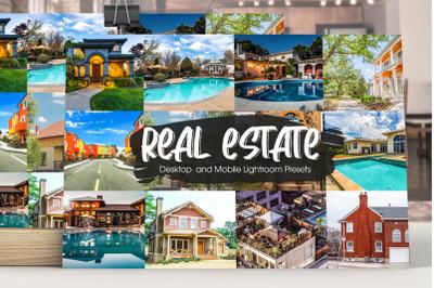 Real Estate Showcase Lightroom Presets