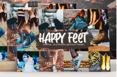 Happy Feet Lightroom Presets