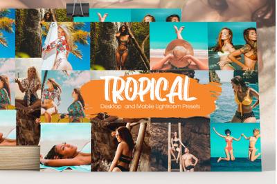 Tropical Paradise Lightroom Presets