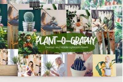 Plant-o-graphy Lightroom Presets