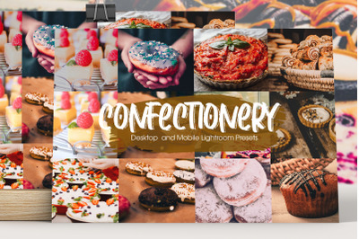Sweet Confectionery Lightroom Presets