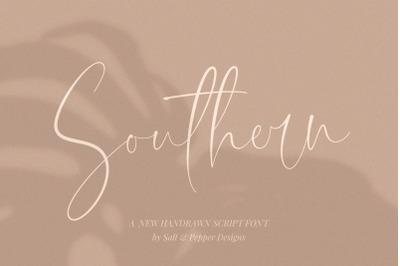 Southern Script Font