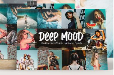 Deep Mood Lightroom Presets
